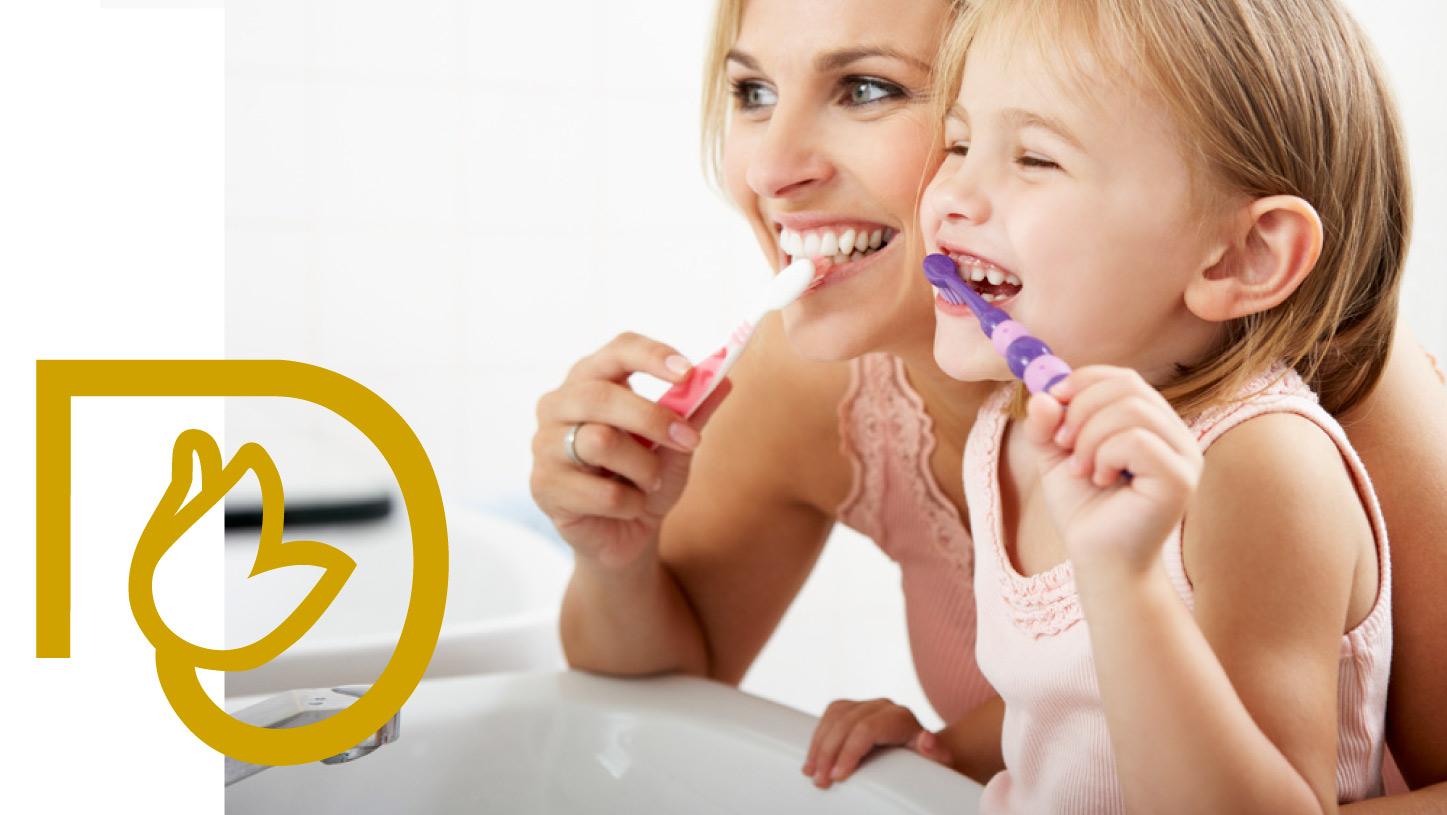 Cuidamos de la salud dental de los niños