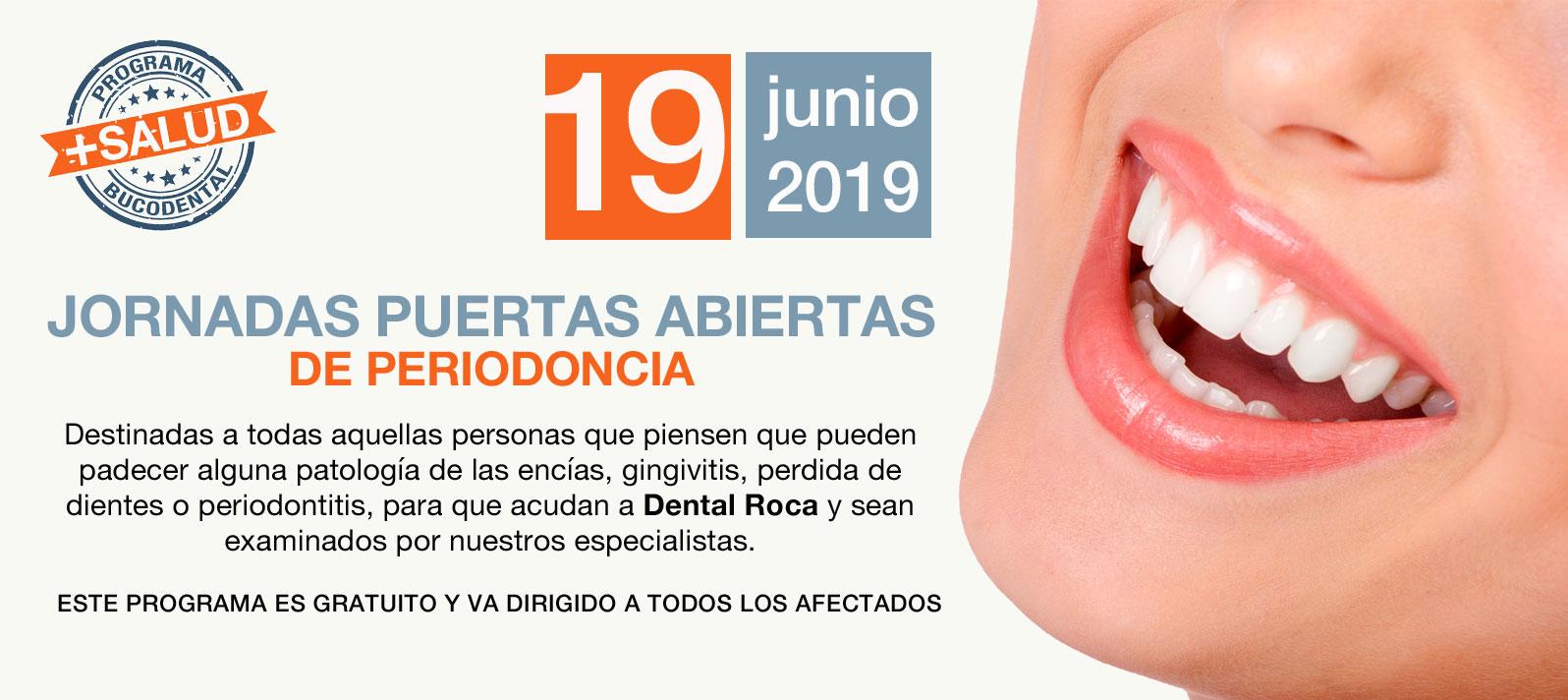 Jornadas de puertas abiertas de salud periodontal en Dental Roca