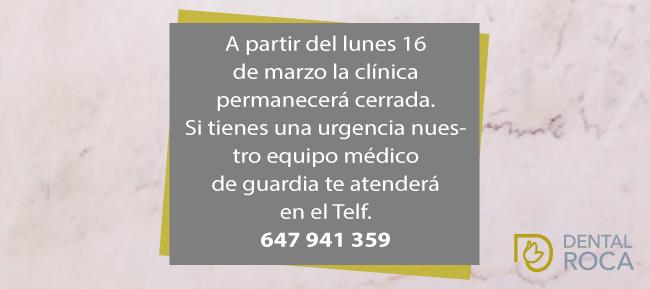 Si tienes una urgencia nuestro equipo médico te atenderá